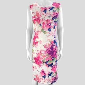 DKNY Floral Design Dress - 16US